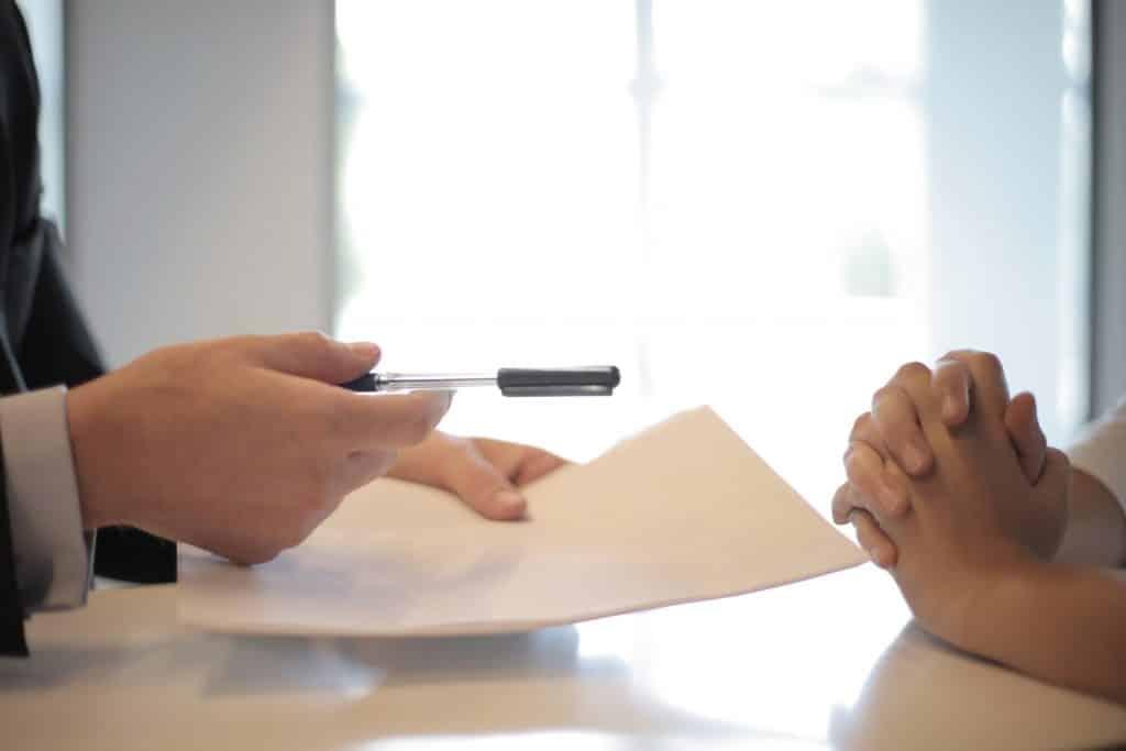 Dossier compléter à signer