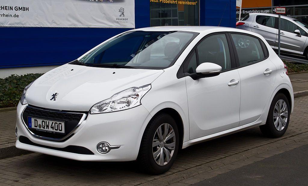 Peugeot neuve 208 blanche