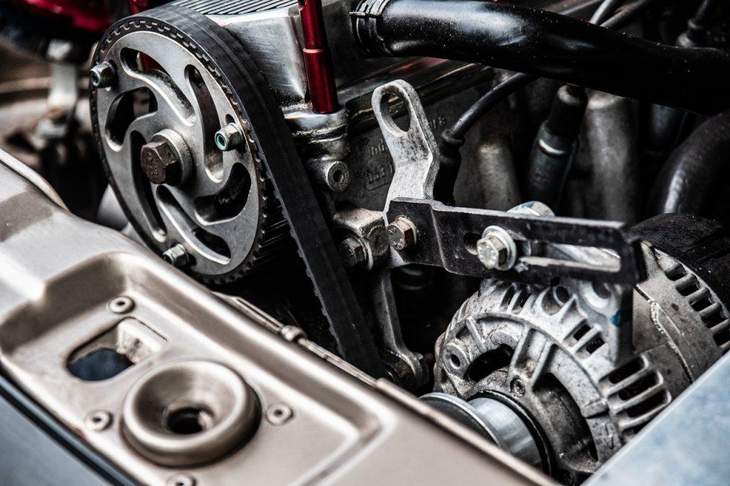 moteur d'une voiture