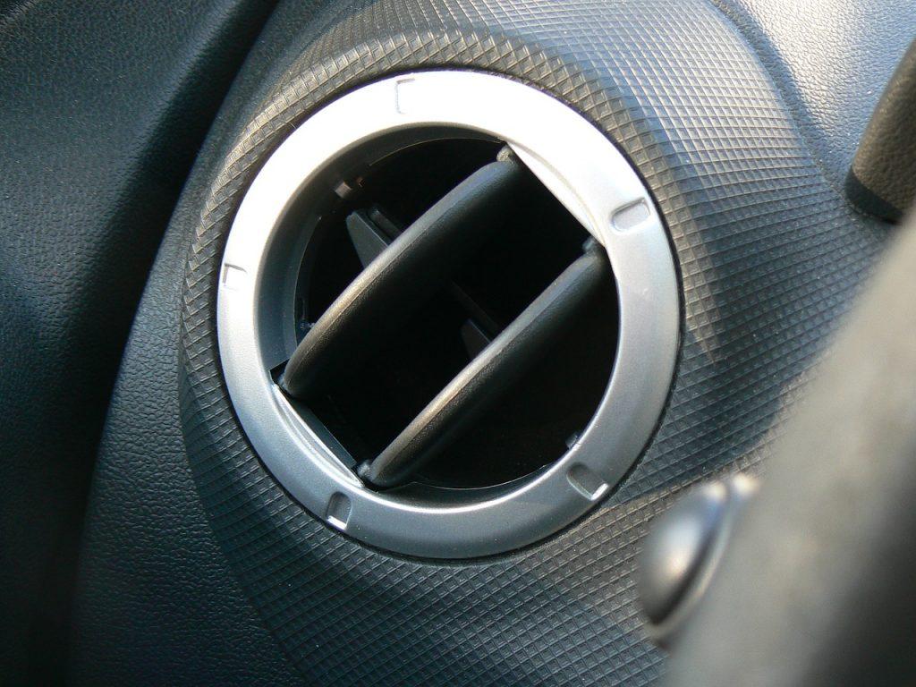 Aération voiture, climatisation air